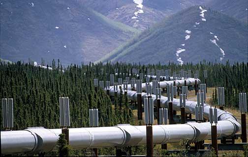 Trans-Alaska Pipeline - Atigun Pass